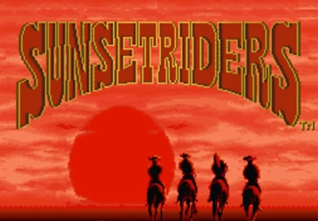 Splash Screen do Sunset Riders Lite