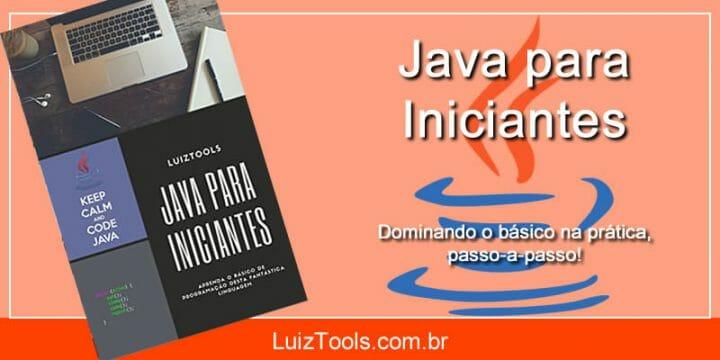 Livro Java para Iniciantes
