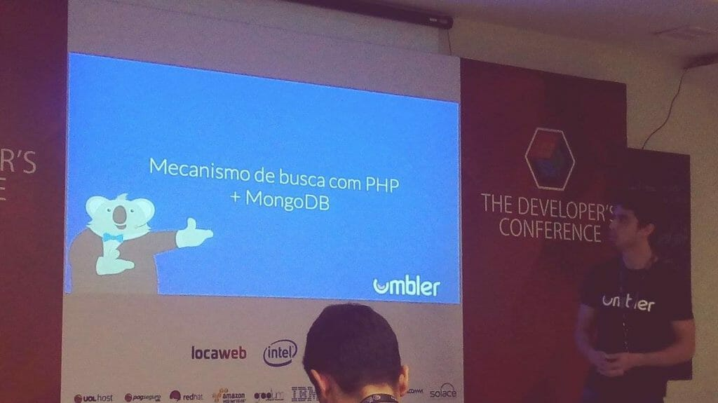 PHP e MongoDB no TDC