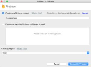 Configuração do Firebase