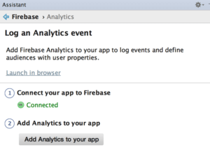 Firebase Analytics