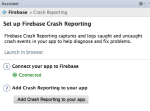 Firebase Crash Reporting