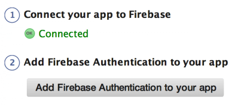 Add Firebase Authentication to your app