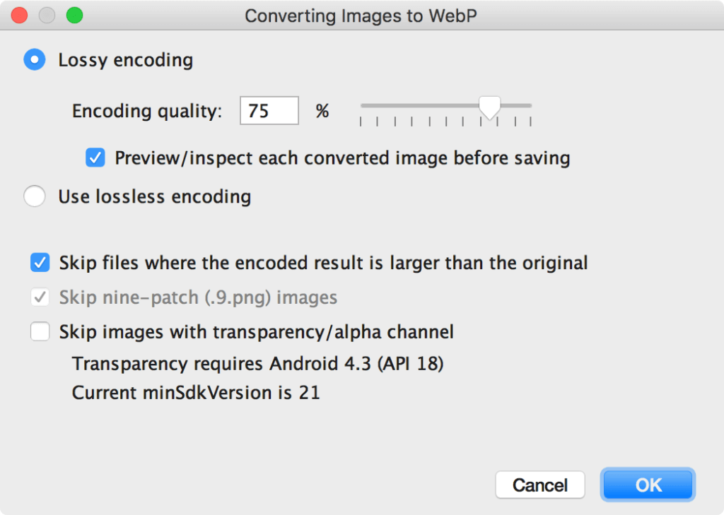 WebP Convert Image