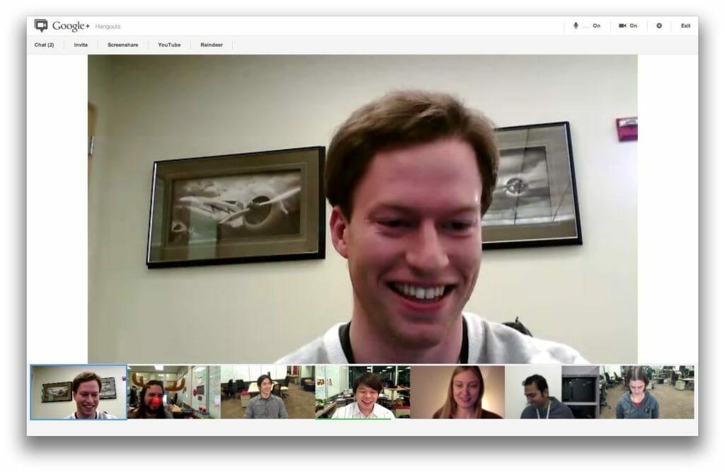 Plataforma Google Hangouts