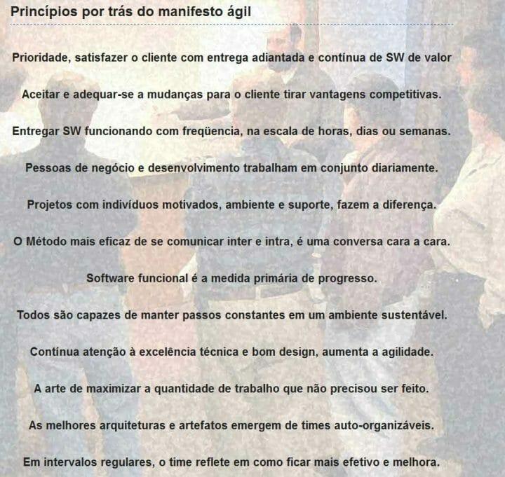 12 Princípios Ágeis