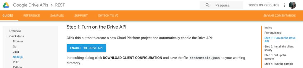 Google Drive APIs