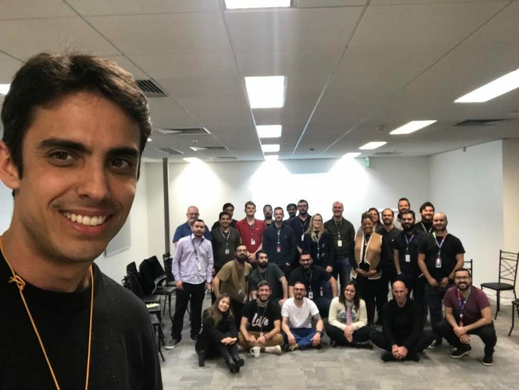 Team Building no Banco Topázio